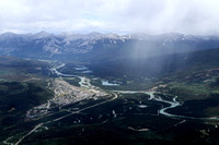 View of Jasper from the Sky Tram
