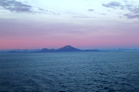 Leaving Sitka in the evening
