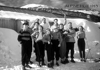 Alpine Hut 1943