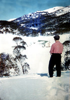 Bill Kenyon at Alpine Hut