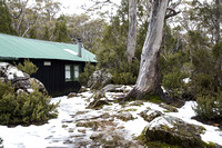 Bushwalkers Hut, Lake Dobson