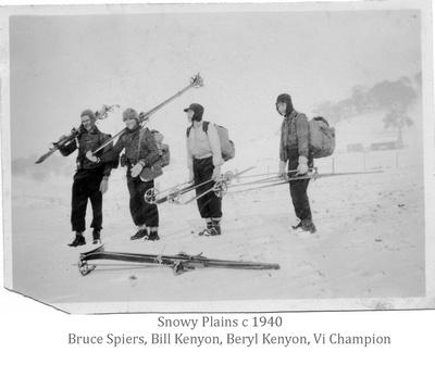 Snowy Plains c 1940
